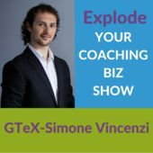 Explode Your Expert Biz Show Podcast with RankingMastery hosted by Simone Vincenzi on SEO Agency Builders  inFor Coaches