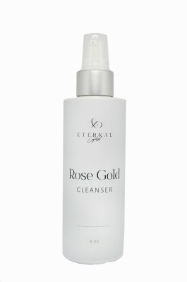 Step 1: Cleansers Rose Gold Cleanser33 Eternal Gold High Frequency All Natural Skincare  For The Mind Body Eternal Gold Beauty